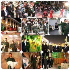 مراسم گرامیداشت هفته دفاع مقدس در ایستگاه راه آهن تهران برگزار شد