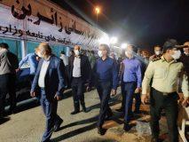استقرار قطار فوق العاده برای جابجایی زائران به تهران