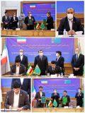 گام بلند ایران و ترکمنستان در راستای توسعه همکاری های ریلی/ امضا دو سند همکاری مشترک