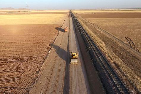 برقیسازی راهآهن تهران - مشهد کلید خورد