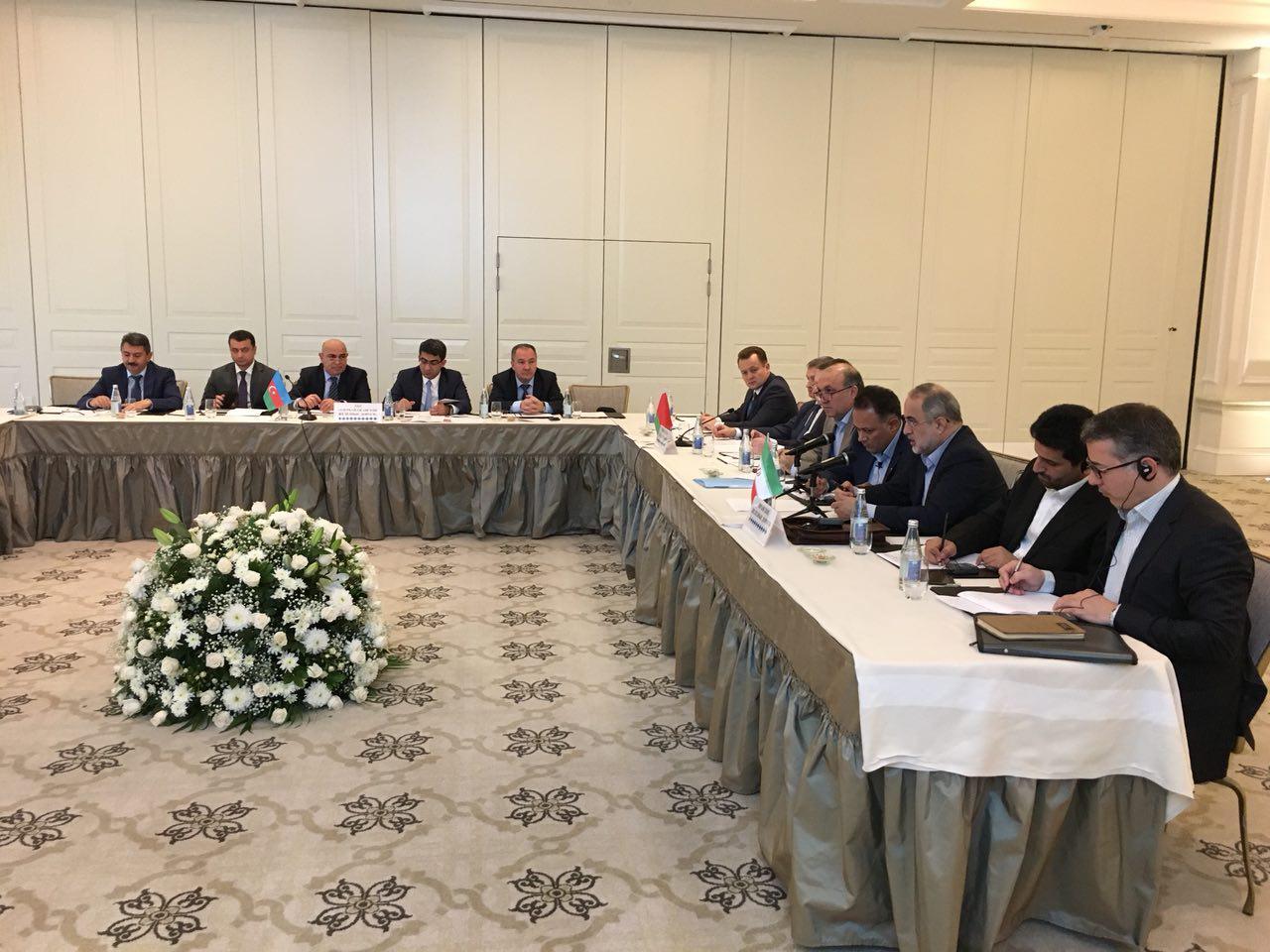 تفاهم ایران،روسیه،آذربایجان وبلاروس برای توسعه ظرفیت کریدور شمال - جنوب