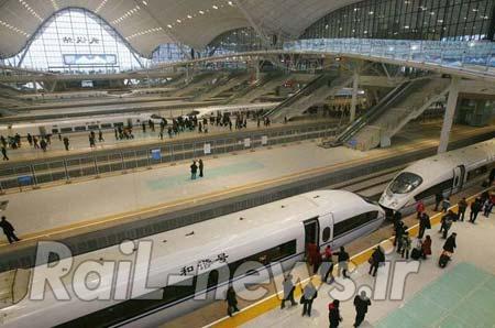 چینی ها در 9 ساعت توانستند یک ایستگاه جدید بسازند ! + ویدیو