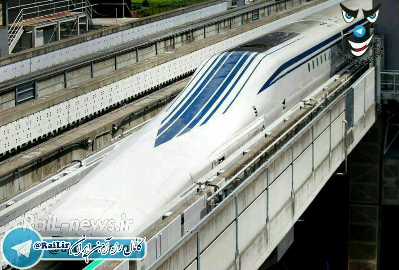 فیلم سریع ترین قطار جهان، از نمای بیرونی و درونی