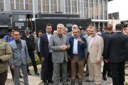 رییس سازمان میراث فرهنگی ،صنایع دستی و گردشگری کشور  از ایستگاه مشهد بازدید کرد