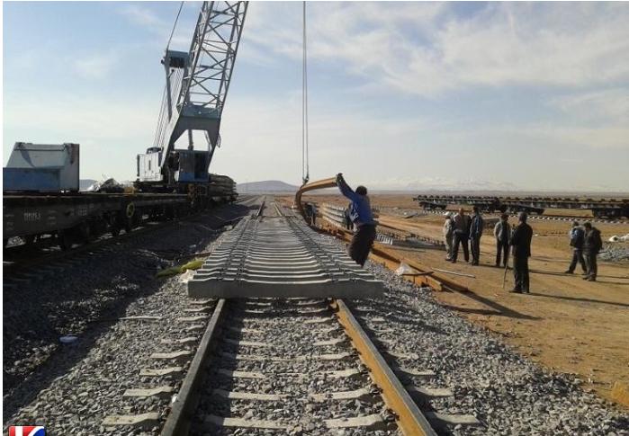 خط سوم راهآهن کاشمر به فریمان در آستانه بهرهبرداری
