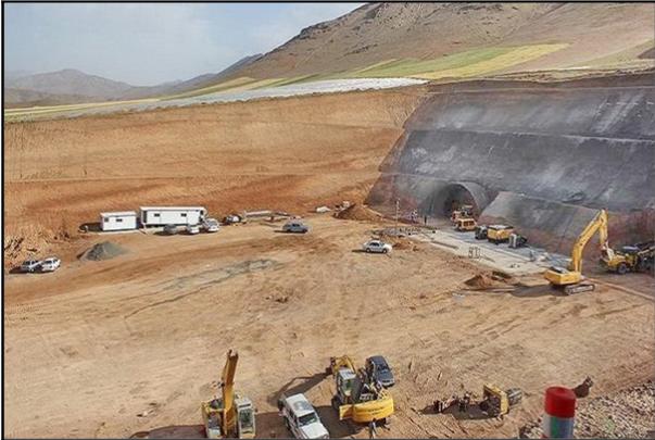 اجرای بزرگترین تونل ریلی کشور در راهآهن دورود ـ خرمآباد