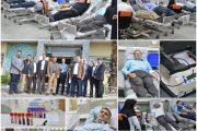 تبلور نوع دوستی و جلوه ایثار با مشارکت مسئولین و کارکنان راه آهن اصفهان در امر نیکوی اهدای خون