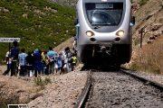 ورود اولین قطار گردشگری در غرب کشور به استان همدان