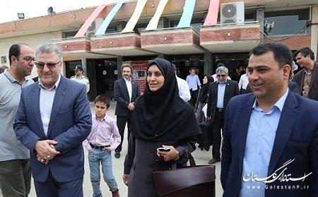 رئیس سازمان ملی استاندارد ایران از ایستگاه راه آهن گرگان عازم تهرانگردید.