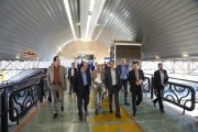 بازدید مدیرعامل راه آهن از ایستگاه راه آهن تهران