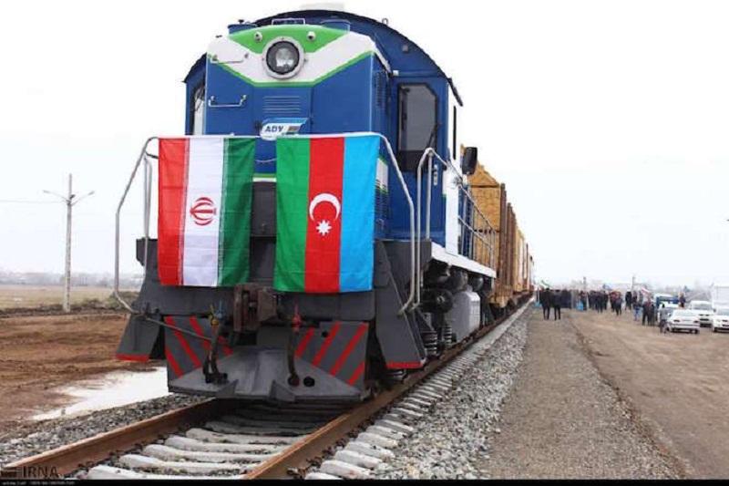 ۱۵ هزار و ۷۱۴ تن کالا از راه آهن آستارا صادر شد
