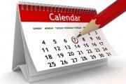تقویم راه آهنی - لیست روزهای راه آهن