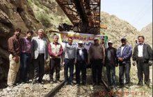 گزارش تصویری از ثبت رکورد در بازسازی صعب العبورترین بلاک محور جنوب