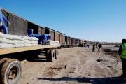 حجم صادرات ریلی سیمان به ازبکستان افزایش یافت