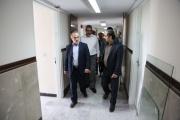 قائم مقام مدیرعامل راه آهن از ایستگاه و سایت راه آهن تهران بازدید کرد.