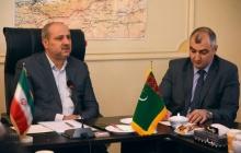 نشست دکتر هاشمی، استاندار گلستان با سفیر ترکمنستان در جمهوری اسلامی ایران