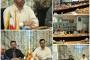 نشست صمیمی قائم مقام راه آهن با فرماندهان و اعضای شورای مرکز و پایگاه های تابعه ستادی بسیج راه آهن