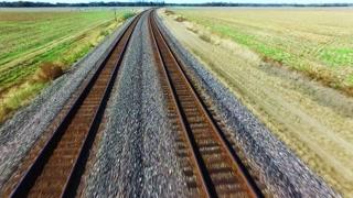 ترمز سریع از نمای زیر قطار + ویدیو
