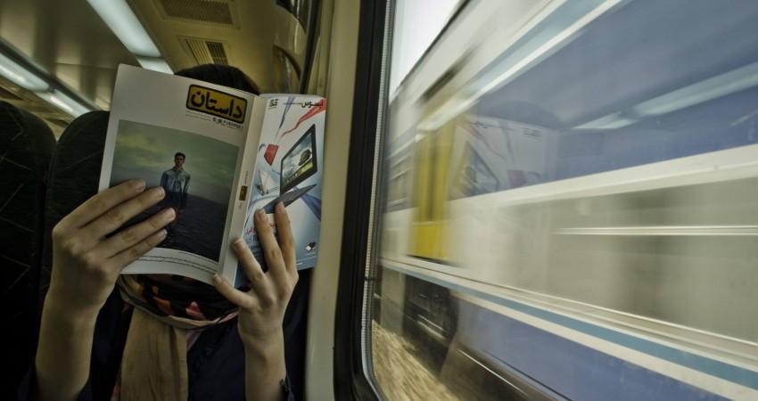 کتابخوانی ۲۷ هزار و ۶۷۴ مسافر مترو در تیر ماه سال ۹۷