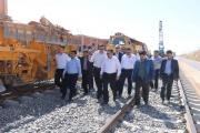 معاون وزیر راه وشهرسازی در بازدید از راه آهن مراغه - ارومیه خبر داد، بهره برداری از راه آهن مراغه-ارومیه در شهریورماه
