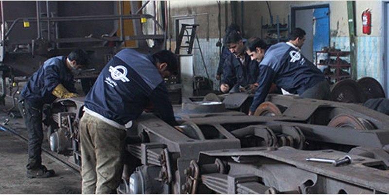 تعمیر ۵۷۳ واگن باری و مسافری در کارخانه تعمیرات میبد