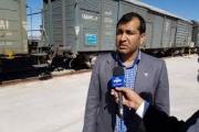 رشد ۵۲ درصدی صادرات ریلی از زاهدان به کویته پاکستان