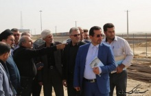 بازدید دادستان مرکز استان گلستان ومعاونین استاندار از ايستگاه راه آهن اينچه برون