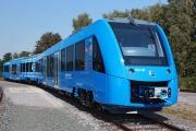 اولین قطار هیدروژنی جهان آغاز به کار کرد/ فیلم