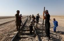 گرمای۵۲ درجه و گرد و غبار هم مانع فعالیت راهآهن جنوب نیست