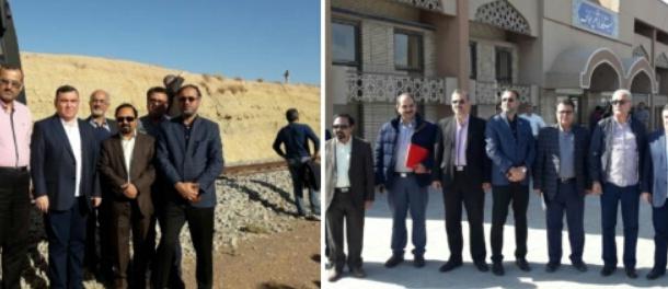 ایران جایگاه برتر حمل و نقل ریلی را در منطقه دارد.