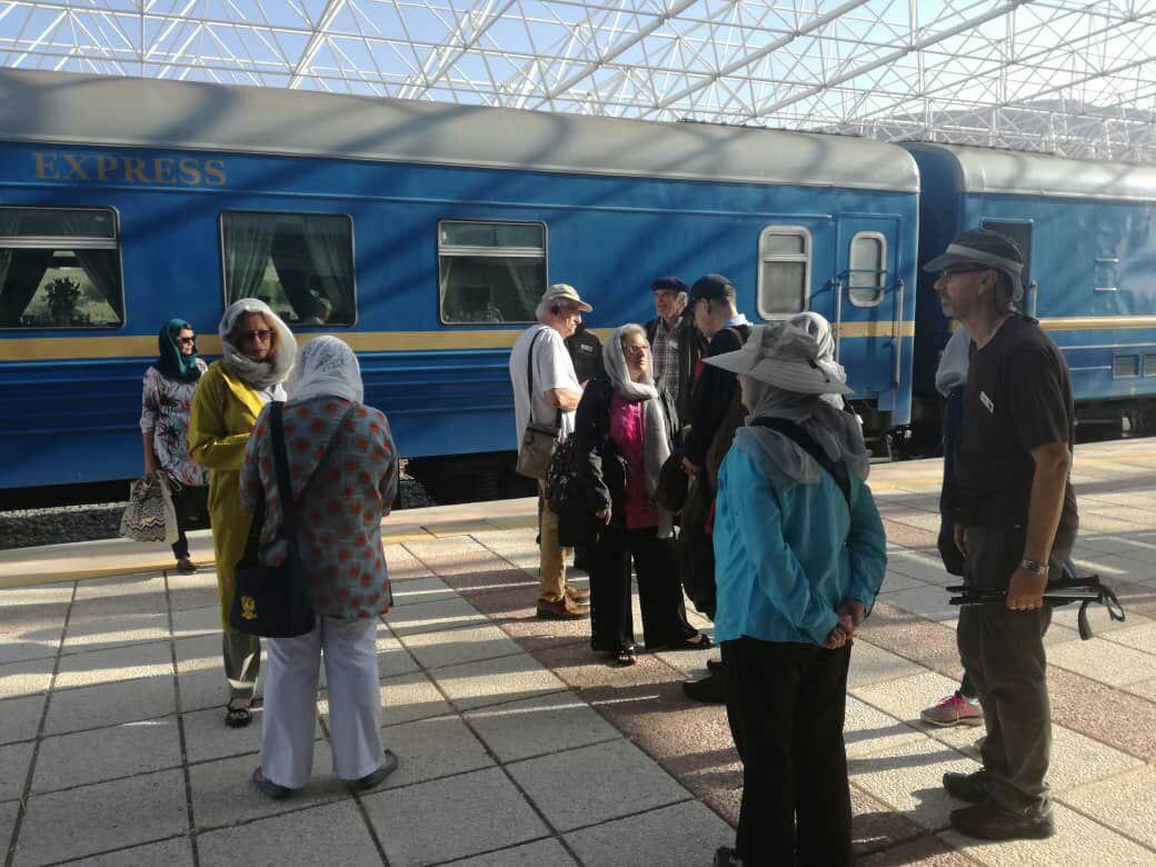 فارس نخستین ایستگاه قطار گردشگری راه ابریشم شد
