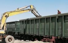 شروع حمل ریلی محموله کود شیمیایی در راه آهن تهران