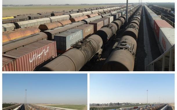 ایجاد دو محور جدید حمل بار در راه آهن شرق
