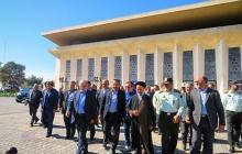افتتاح پروژه توسعه فضای سالن ایستگاه راهآهن تبریز