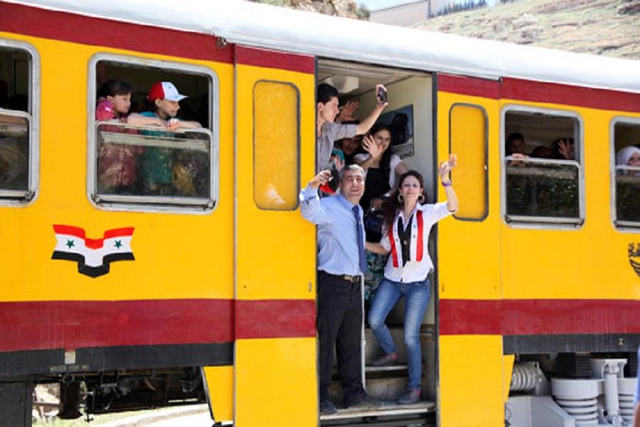 فعالیت راه آهن دمشق-امان ازسرگرفته می شود