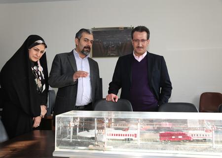 بازدید سعید رسولی عضوهیات مدیره راهآهن از مرکز توسعه، آموزش و فناوری/ گزارش تصویری