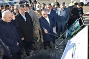 وزیر راه و شهرسازی از راه آهن آستارا بازدید کرد