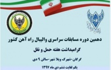 دهمین دوره مسابقات والیبال سراسری کارکنان راه آهن با مسابقه بین دو تیم شمالشرق(۲) و تهران به کار خود پایان داد