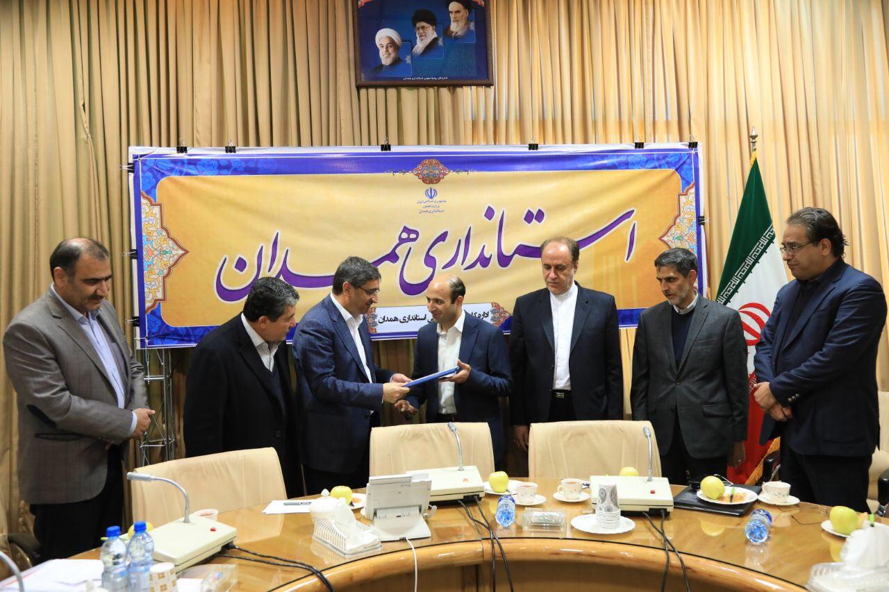 معارفه اولین مدیرکل راه آهن غرب کشور/گزارش تصویری