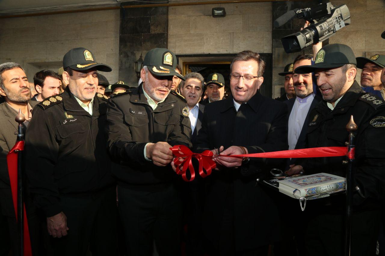 افتتاح نخستین درزین گشت پلیس راه آهن در تهران