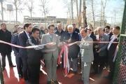 دو زمین تنیس و دو زمین مینی تنیس با تکنولوژی هارد کورت در مجموعه اکباتان افتتاح شد.