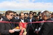افتتاح و بهره برداری از سکوی بارگیری و واگن حمل خودرو در ایستگاه راه آهن قم