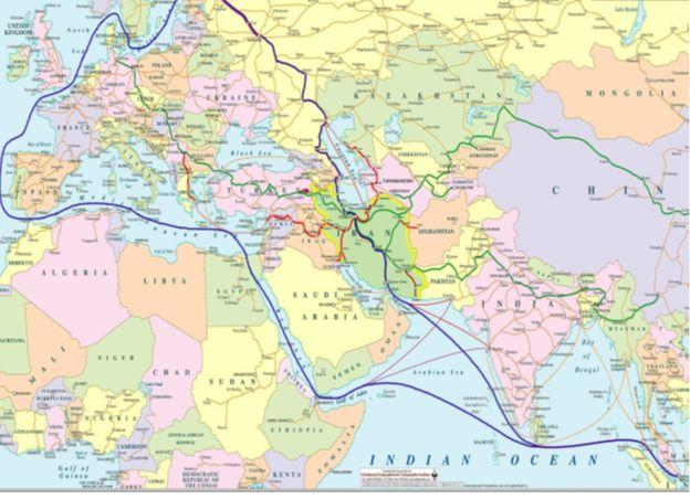 ۵.۳ میلیارد دلار درآمد دست یافتنی ایران از ترانزیت ریلی