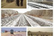 مواجهه راه آهن جنوبشرق با سه جبهه آب و هوایی و تشکیل کمیته مدیریت بحران