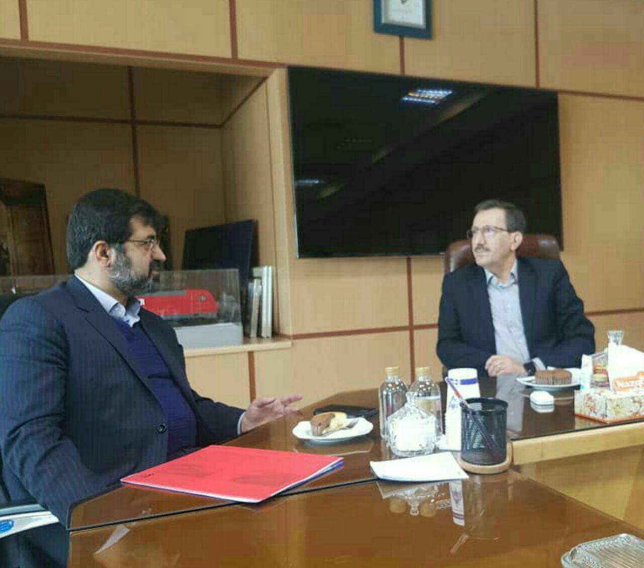 اتصال خط ریلی استان اردبیل به جمهوری آذربایجان منافع دو کشور را تامین می کند