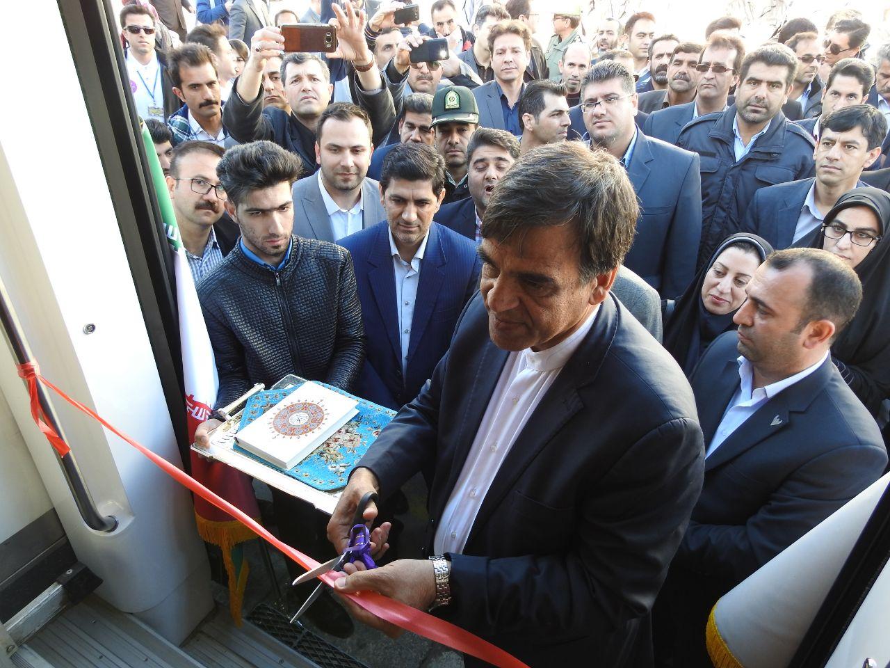 راهاندازی نخستین قطار گردشگری لرستان در نوروز ۹۸/ گزارش تصویری