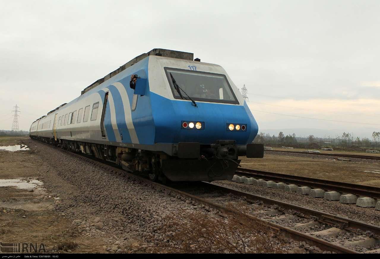 گیلان مبدأ و مقصد سفر افزون بر 10 هزار نفر با قطار