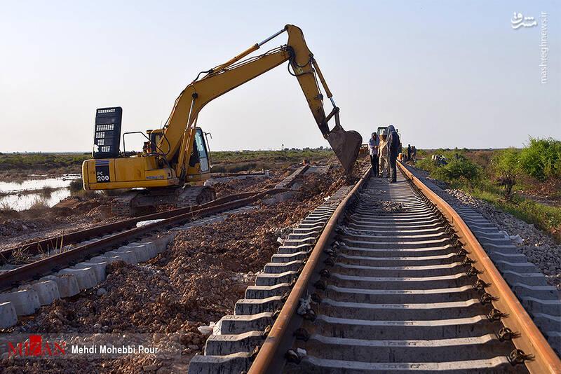 با بازگشایی محور جنوب سیر قطارهای باری در این مسیر آغاز شد