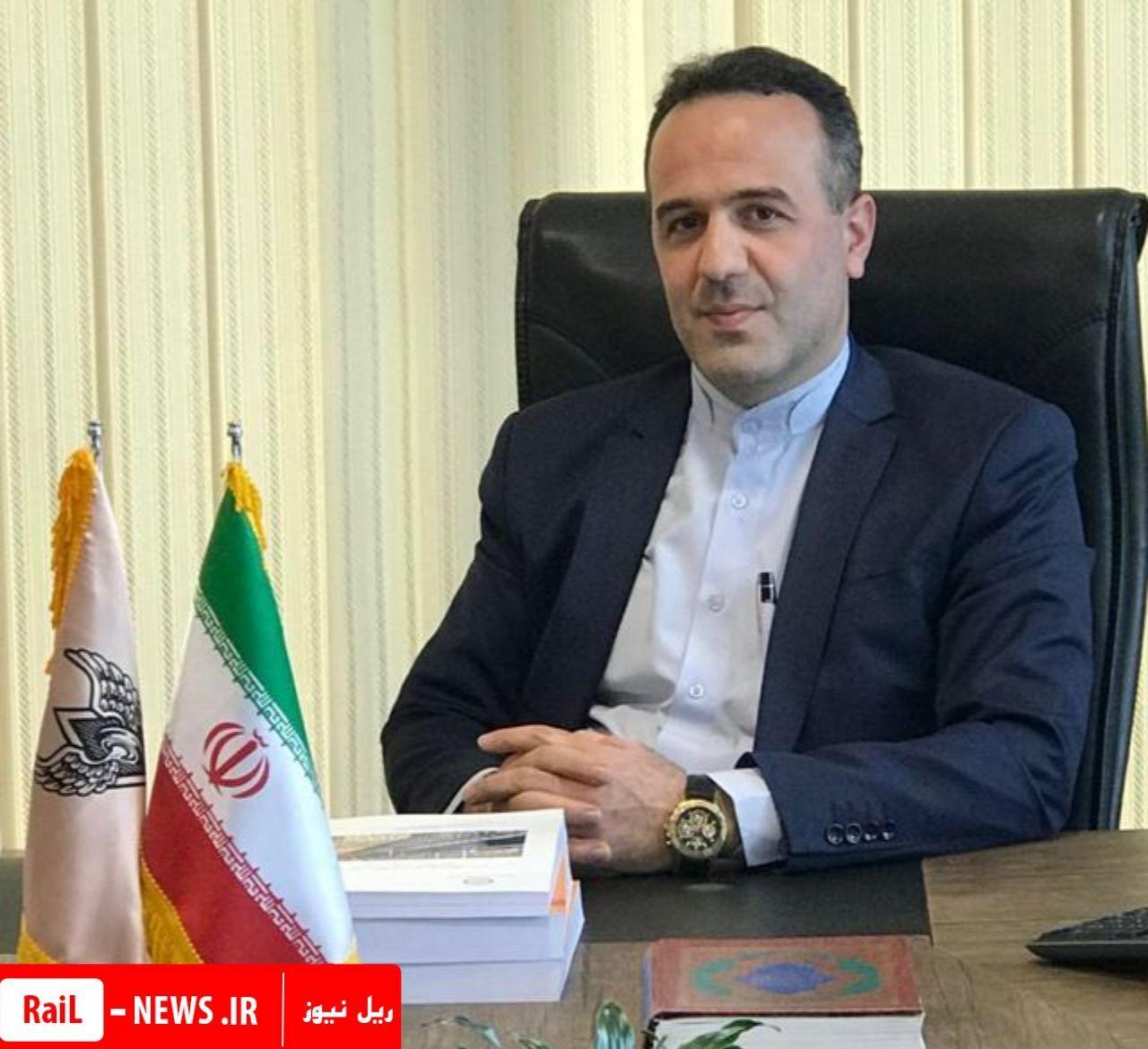 رکورد تن کیلومتر بارحمل شده در راه آهن تهران شکسته شد.
