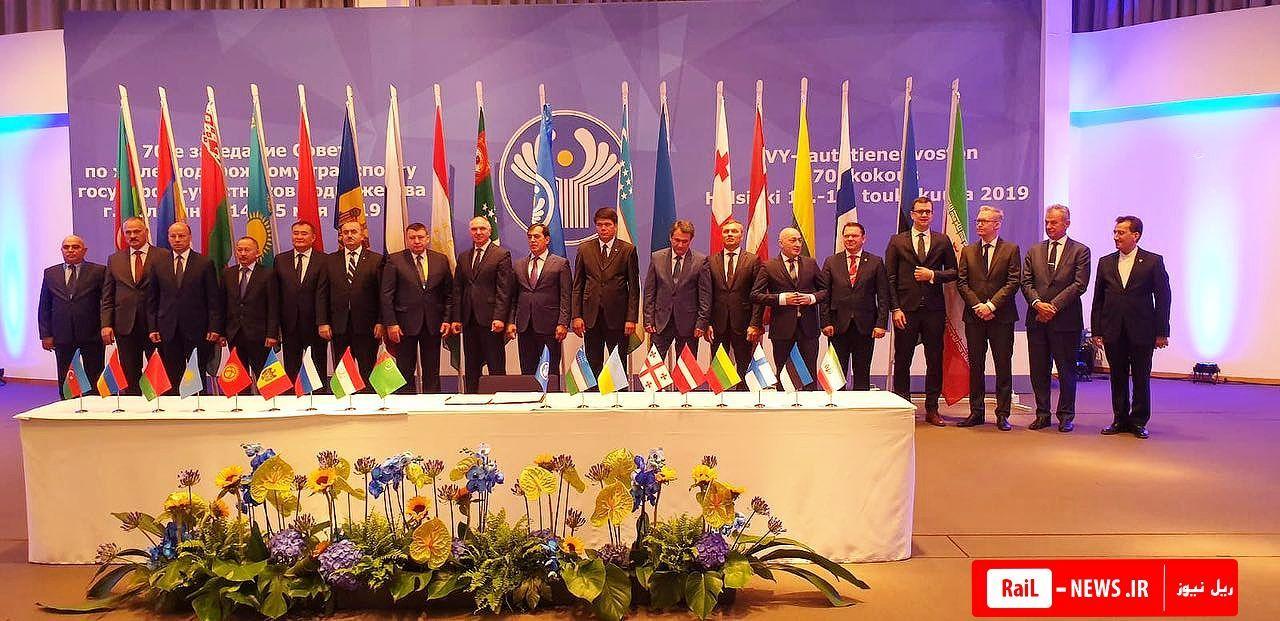 ایران به عضویت پیوسته شورای ریلی سی آی اس در آمد